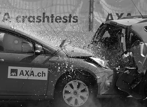 פגיעה מאחור בתאונת דרכים